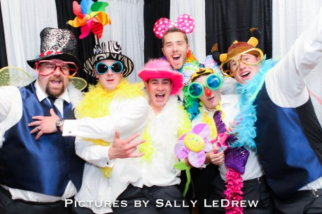 Photo Booth fun for weddings and events.  4x6 color printing on site!!